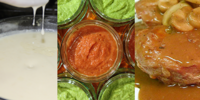 Sauces, Dips, and Gravies