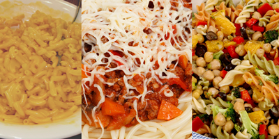 Main Dishes with Pasta